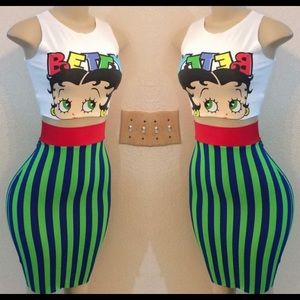 Other - Betty Boop two piece